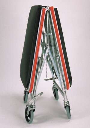 Gendron General Transport Stretcher - Folding, Chrome, Mat, 250Lbs, Each - Model 650-116-163-119