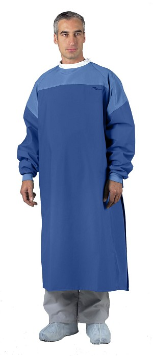 GORE LP Level 4 Critical Coverage Gown - Surg, Crtical Cvr, Ocean Blu, Xxl, 2XL, Box of 12