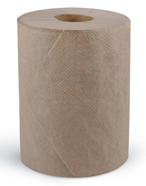 Medline Standard Roll Towel - Paper, 1Ply, 7.875X350', Natura, Box of 12 - Model NON25825
