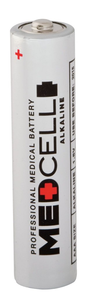 Medline MedCell Alkaline Battery - Battery, 1.5V, Aaa, Each - Model MPHBAAA