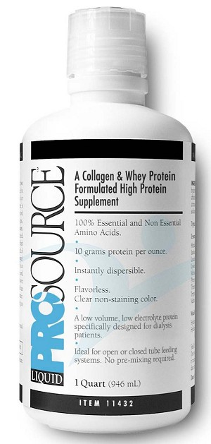 National Nutrition Prosource Liquid Protein Nutritional Supplement - 32 Oz,  Box of 4 - Model 11432