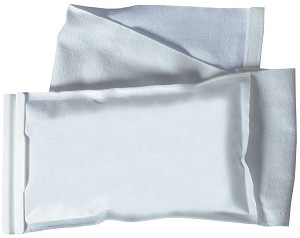 "Medline Refillable Ice Wrap - Bag, Elastic, Zip, Lf, 4X8.5"", Reuse, Box of 50 - Model NON4010"