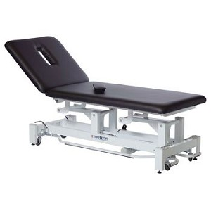 Metron Elite 2-Section Bariatric Table, Cappuccino - Model 566202C