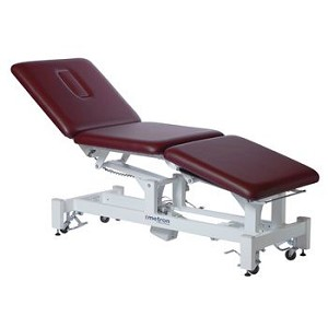 Metron Plus 2-Section Bariatric Table, Storm Gray - Model 564236G
