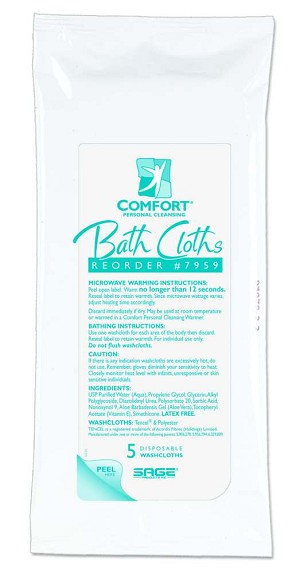 bath packs ultra value comfort size washcloths pin personal cloths thick disposable comforter cleansing