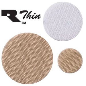 "Self-Adhesive RThin Coin - 7/8"" (2.2cm)-mates w/ 1"" (2.5cm) strap Beige - Model A34014"