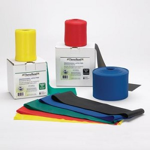 Thera-Band Professional Resistance Band - 6-yard Box, Latex, Green, Resistance Level 3