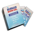 Unifirst First Aid Burnaid Burn Ointment - Unit Dose, Box of 25 - Model 3066