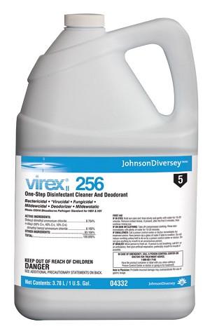 Virex Ii 256 Hospital Grade Quaternary Disinfectant