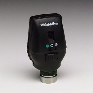 how to use welch allyn ophthalmoscope