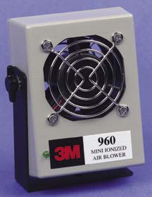 3M Mini Air Ionizer, with bracket attached, Model 960, Each