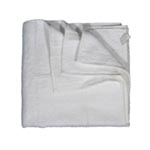 Acme Linen Company Terry Hand Towel, White, Pkg of 12