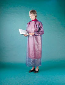 Ansell Vinyl Coat Aprons, Large, Model 950192, Each