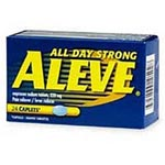 Bayer Aleve Caplets, Pkg of 100