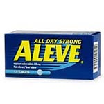 Bayer Aleve Tablets, Box of 100