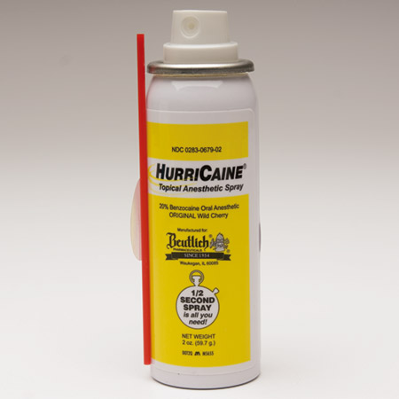 Beutlich Pharmaceuticals Hurricaine Spray - Spray Can, 2 oz., Each