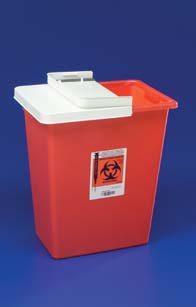 Covidien PG2 DOT-Compliant Sharps Disposal Containers - Containers with Sliding Lids, Model 8998SPG2