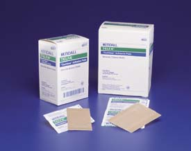 Covidien TELFA Ouchless Adhesive Dressings, Sterile, 5.1 x 7.6 cm (2 x 3