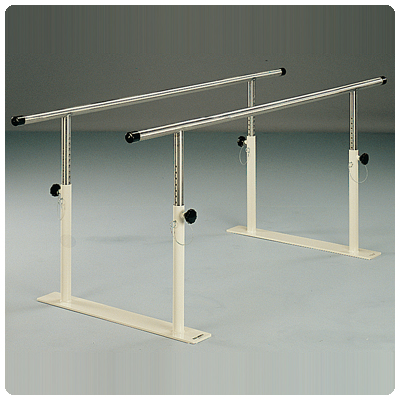 Midland Folding Parallel Bars - With Stainless-Steel Base (not shown) - Model 1431W