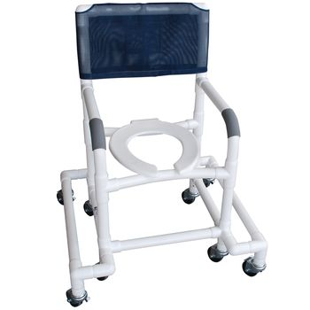 Outrigger Shower/Commode Chair - Commode - Model 565891