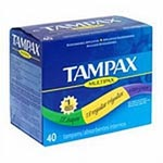 Procter & Gamble Tampax Tampons - Super Flush, Box of 40