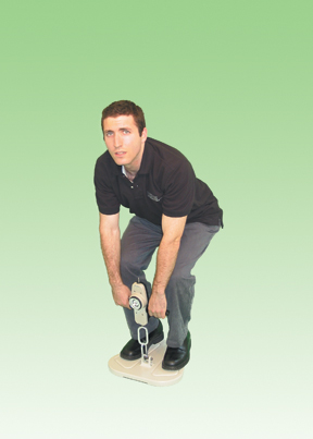 Regular Stand-On Lifting Base For Push-Pull And Back-Leg-Chest Dynamometers