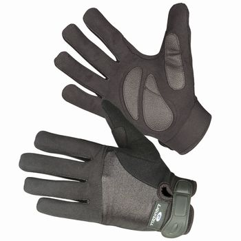 ShearStop Push Gloves with LiquiCell Palm Protection Half-Finger Size: Large - Model 552521