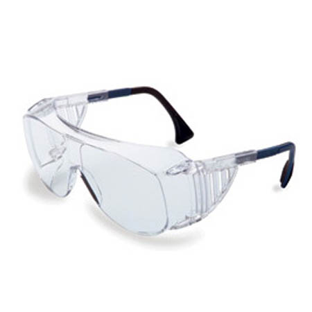 Uvex Ultraspec 2001 OTG Safety Glasses, Clear W/Clear Lens - Model S0112, Each