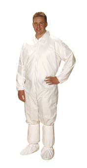VWR Critical Cover ComforTech Coveralls With Elastic Wrists and Ankles, X-Large, Model 80080-942