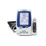 Welch Allyn Spot Vital Signs LXi with SureBP and Braun ThermoScan PRO 4000 Ear Thermometer