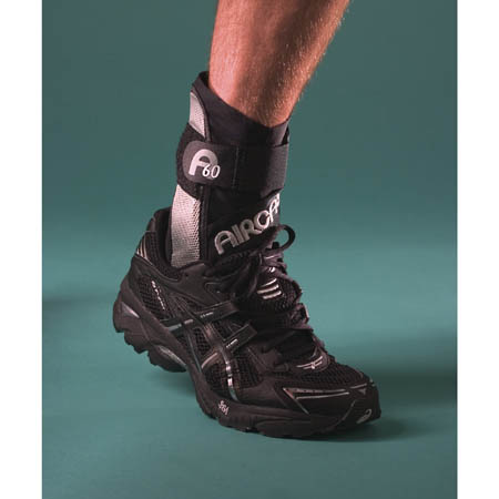 AirCast A60 Ankle Support, Right Medium fits Mens 7.5 to 11.5, Womens 9 to 13 - Model 02TMR, Each