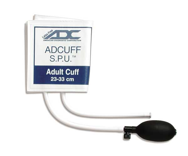 ADC SPU Inflation System Cuff - Adult, Lf, Pack of 10 - Model 8600A-10