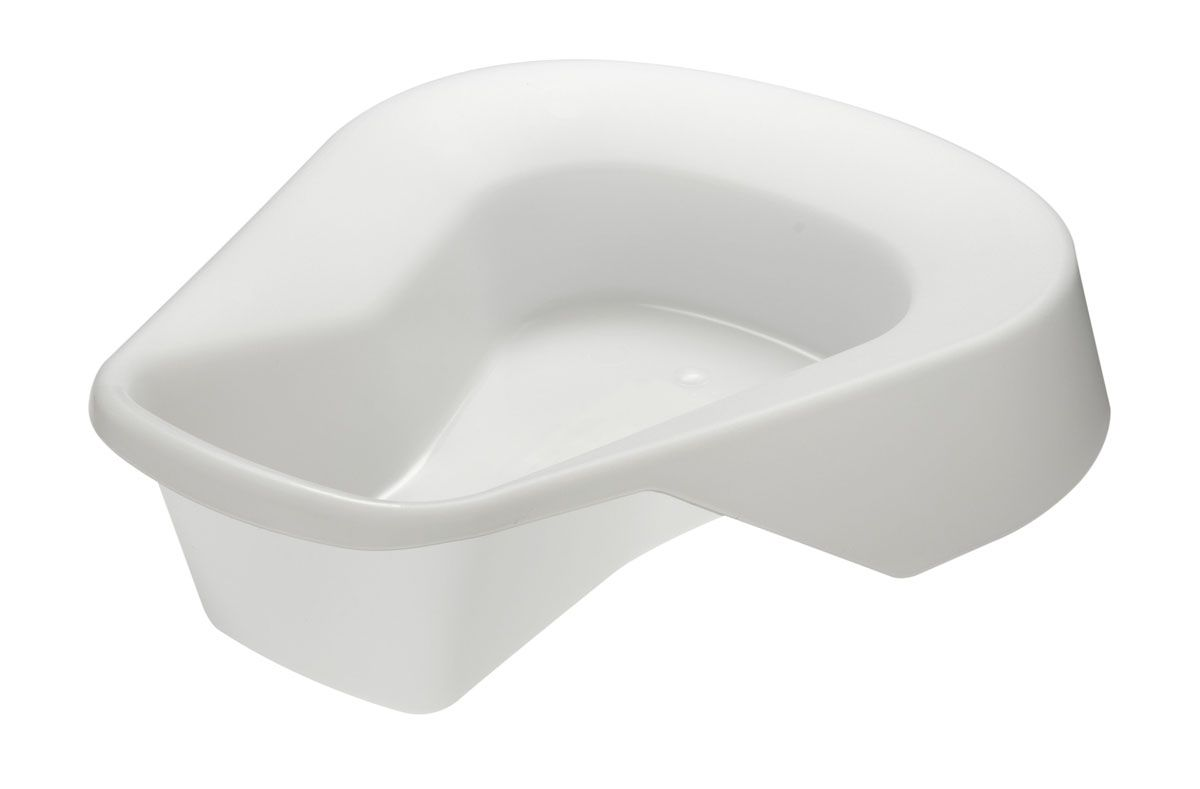 Medline Pontoon Bedpan - Pigment Free, Box of 20 - Model DYNEC80217C