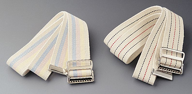 Medline Transfer Belt - Cotton, w/ Buckle, 60