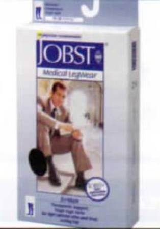 BSN Medical Jobst Anti-embolism Stockings, Thigh-high X-Large Black - Model 115415