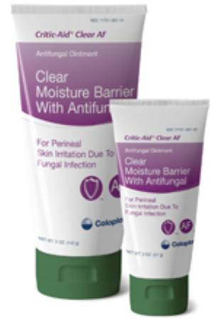Coloplast Critic-Aid Clear AF Antifungal Moisture Barrier, 5 oz. Tube, Box of 12 - Model 7572
