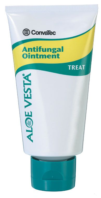 Convatec Aloe Vesta Antifungal Ointment - 2 Oz, Box of 12 - Model 325102