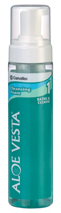 Convatec Aloe Vesta Cleansing Foam - Cleanser, Perineal, 8 Oz, Each - Model 325208