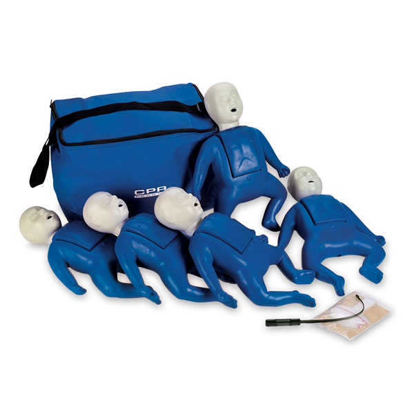 CPR Prompt Training Manikins- Infant - Training And Practive, Child, Pack of 5 - Model LF06050U