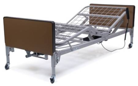 Graham-Field Patriot Semi Electric Bed, Home Care 87 Inch Grid Deck, Each - Model US0208