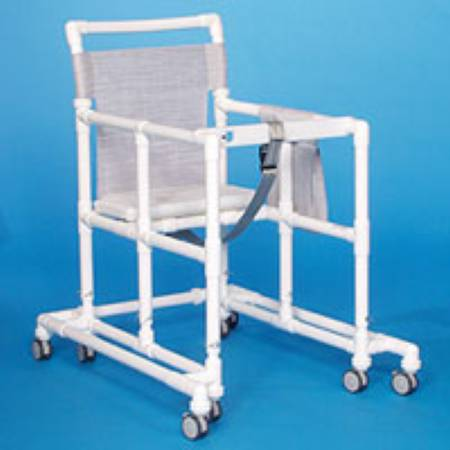 IPU Ultimate Non Folding Walker Adjustable Height PVC 400 Lbs, Suncast Blue, Each - Model ULT99 ET