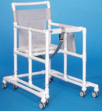 IPU Ultimate Non Folding Walker Adjustable Height PVC 400 Lbs, Each - Model ULT99 ET
