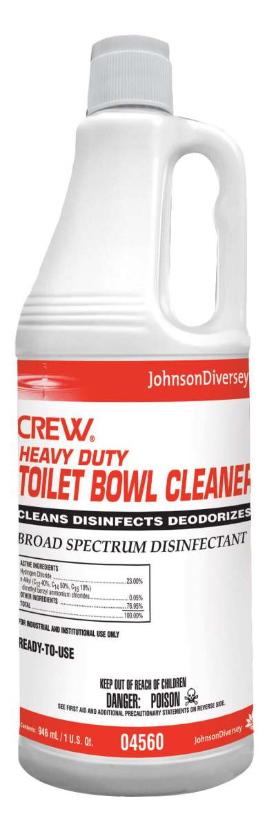 Toilet Cleanser With Hydrochloric Acid Cleaner