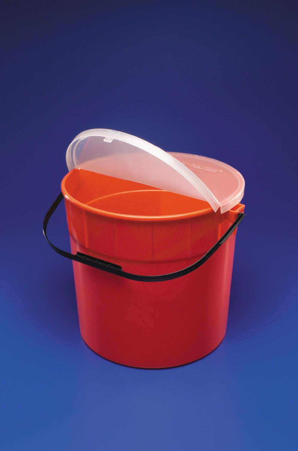 Kendall Sharps Container - Waste, 10 Gl, Red, Sharp-A-Gator, Box of 6 - Model 31143665