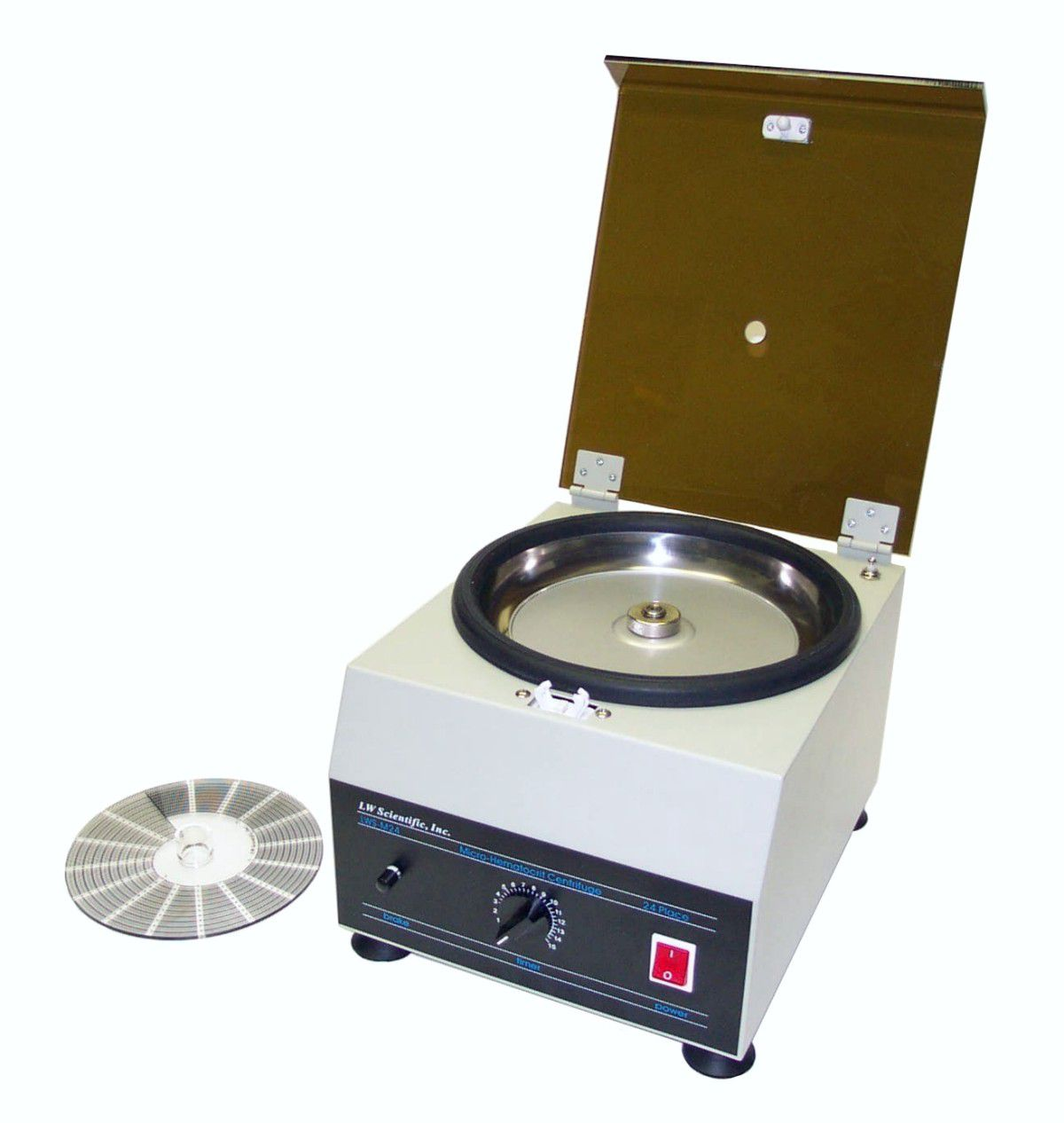 Lw Scientific 24-place Hematocrit Centrifuge - M24, Each - Model HEC-24HF-7501