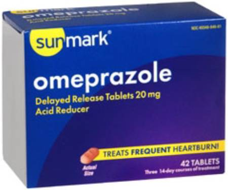 McKesson sunmark Antacid, 42 per Box Tablet - Model 49348084661
