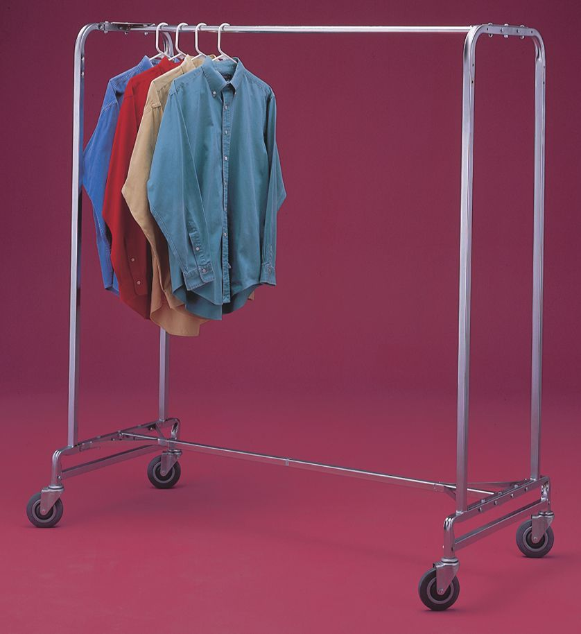 R & B Wire Products Garment Rack - Single, 60