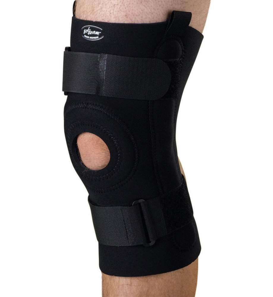 Medline U-Shaped Hinged Knee Support - Lg, Each - Model ORT23220L