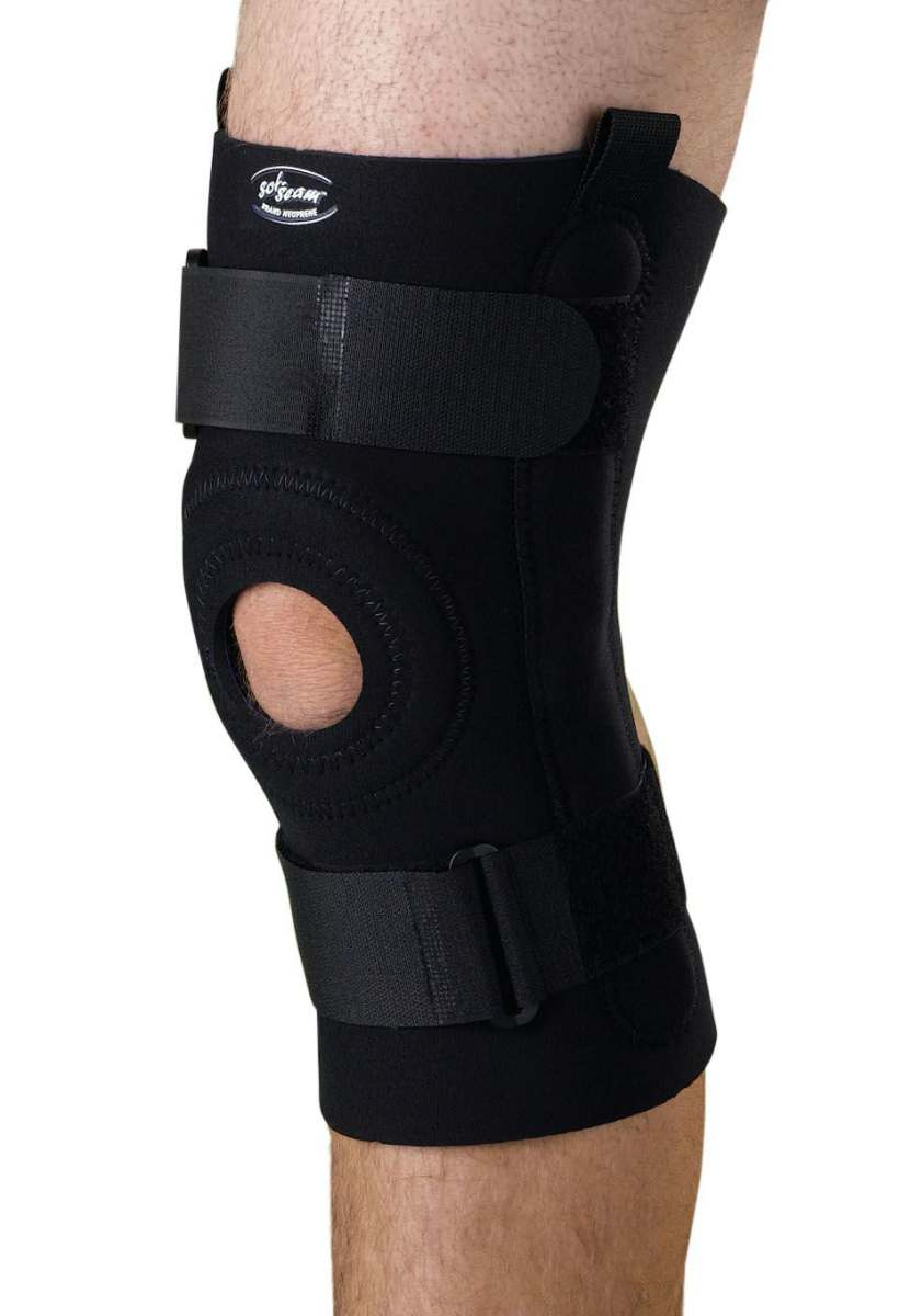 Medline U-Shaped Hinged Knee Support - Xl, Each - Model ORT23220XL