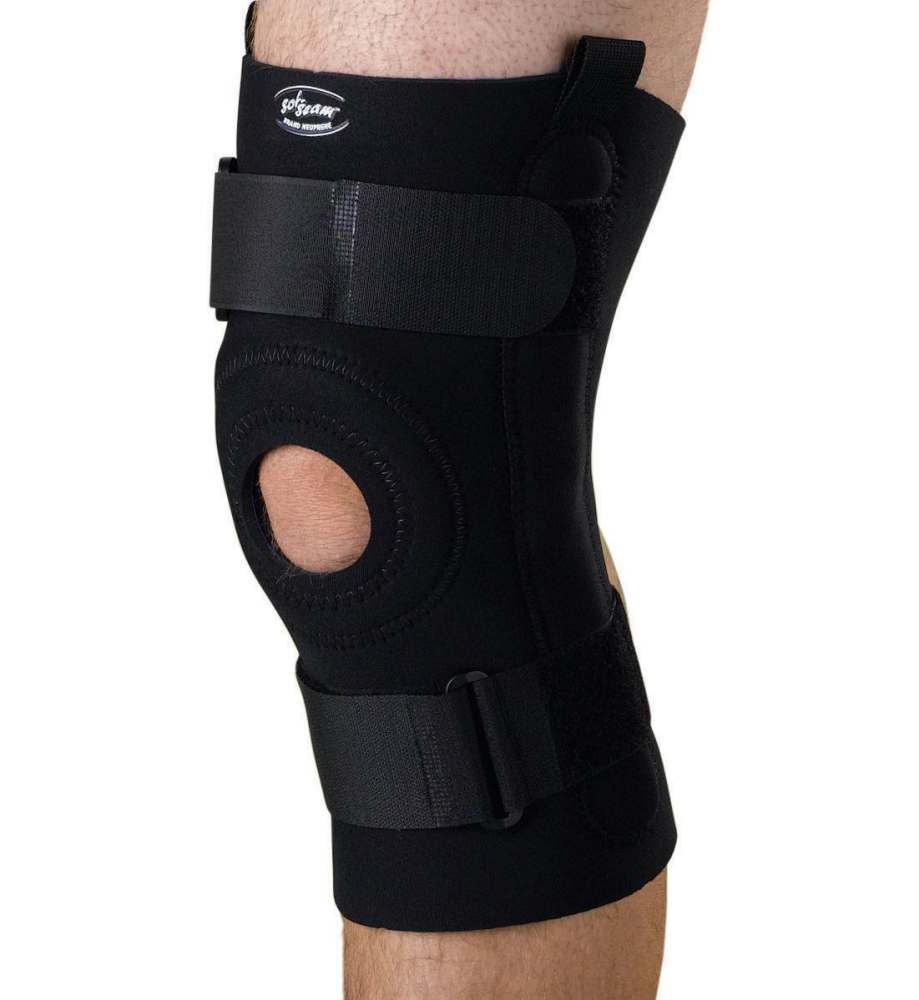 Medline U-Shaped Hinged Knee Support - 2Xl, Each - Model ORT232202XL